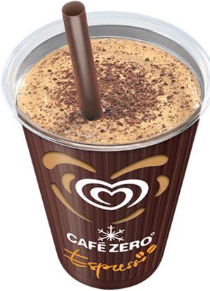 caffe zero espresso algida