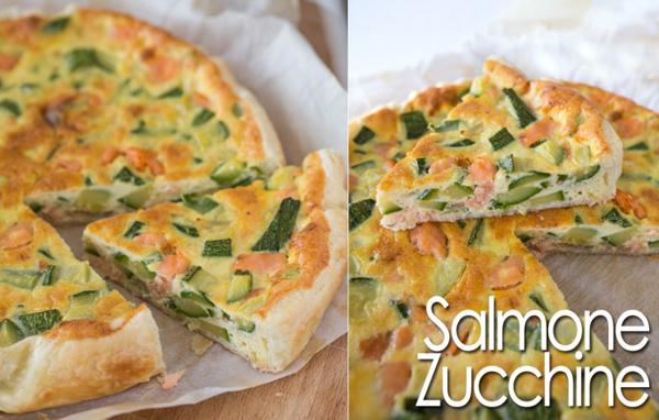 Ricetta Quiche Salmone E Zucchine.La Ricetta Della Torta Salata Di Salmone E Zucchine Vivere Meglio