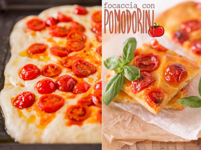 Ricetta Focaccia Con Pomodorini.La Ricetta Della Focaccia Con Pomodorini Vivere Meglio