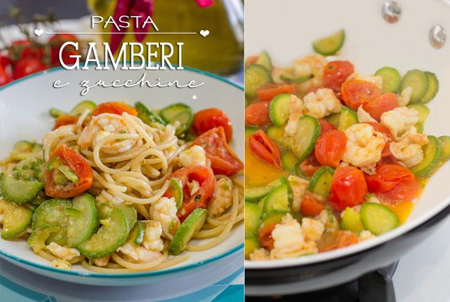 pasta-gamberi-e-zucchine