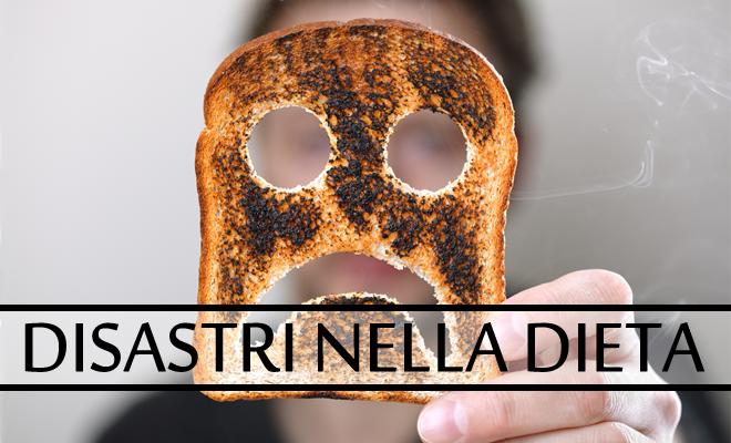Disastri nella dieta - le cose da non fare