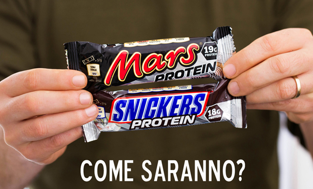 mars snickers protein bars