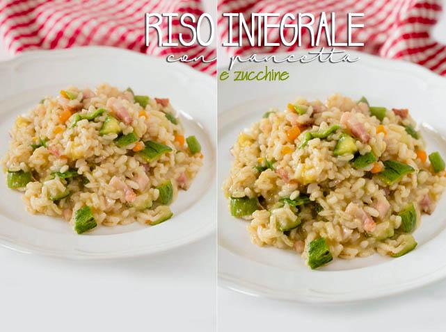 riso-integrale-pancetta-e-zucchine
