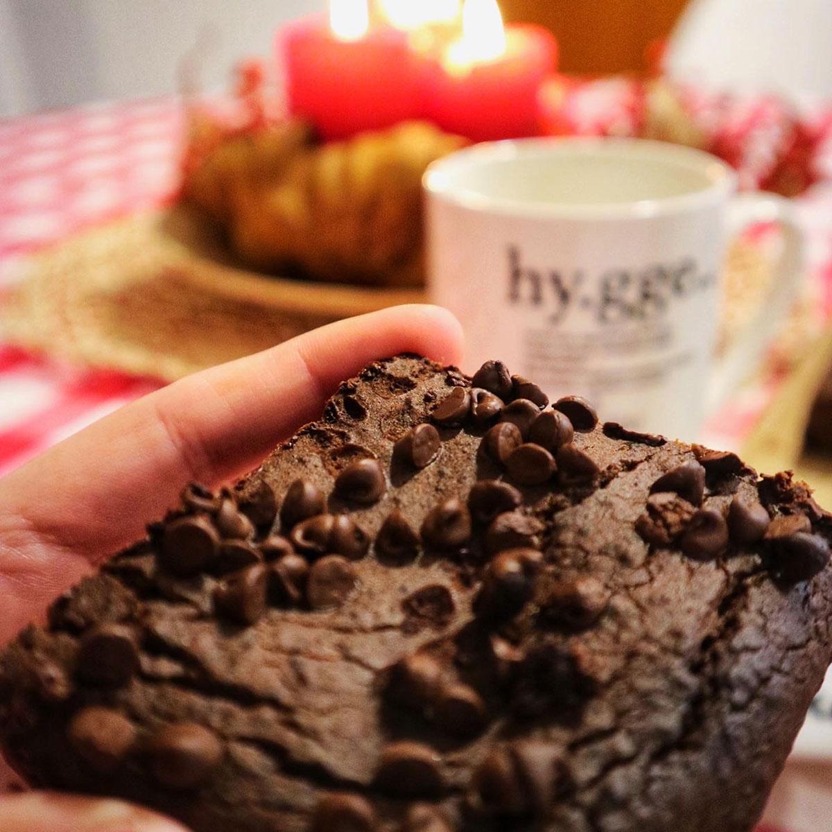 Chocolate Brownie di Ceci