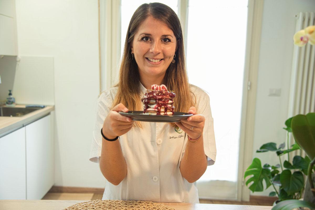 Pancake proteici: la nutrizionista Federica Lollini